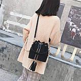 Ультрамодна жіноча сумочка мішечок YA-2, фото 9