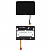 Дисплей Samsung T530 Galaxy Tab 4 с сенсором (тачскрином) и рамкой черный