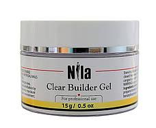 Nila Гель строительный Clear Builder Gel 15 г.