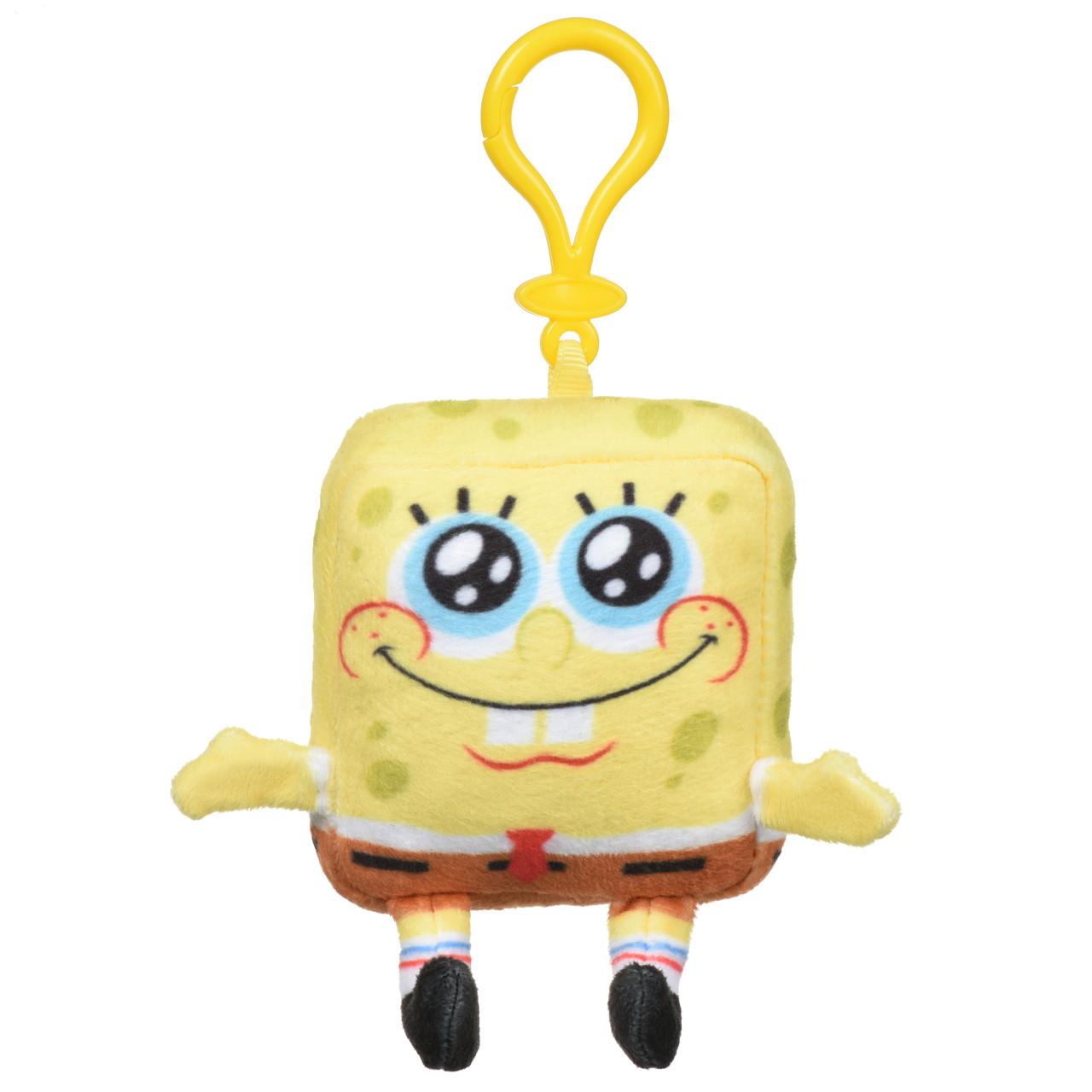 Игрушка-брелок Mini Сlip Plush SpongeBob (Губка Боб), 10 см, «SpongeBob Squarepants» (EU690400-2)