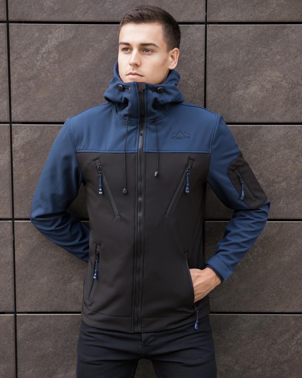Мужская куртка Pobedov Jacket Soft Shell(Софшелл)
