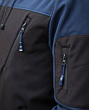 Мужская куртка Pobedov Jacket Soft Shell(Софшелл), фото 3