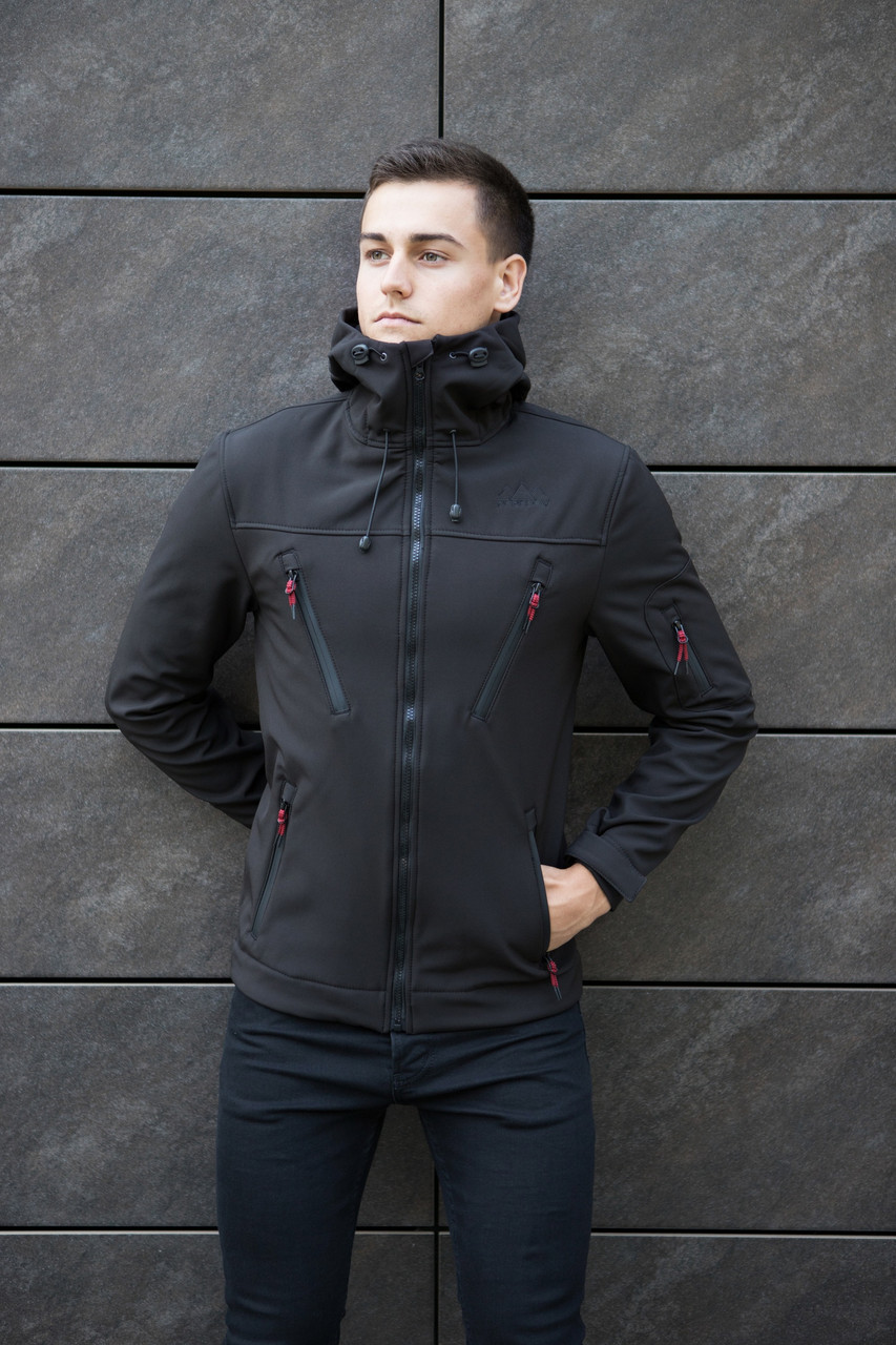 Мужская куртка Pobedov Jacket Soft Shell (Софт Шелл)