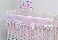 """Защита на верх бортика кроватки из хлопка """"Рассвет"""""""