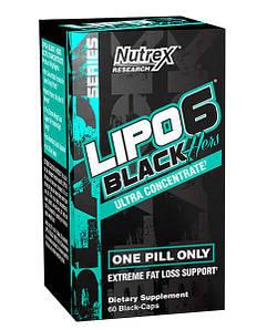 Жиросжигатель Nutrex Research Lipo-6 Black Hers Ultra Concentrate, 60 капсул