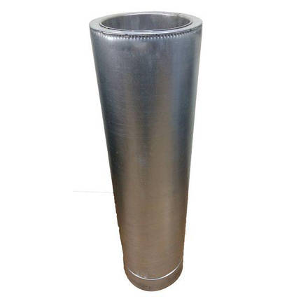 Фабрика ZIG Труба дымоходная 0,5 м ø 400/460 н/оц 0,8 мм, фото 2