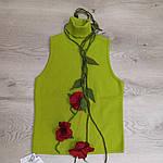 Костюм  жакет вязанный , американка и юбка цена  600 грн, фото 2