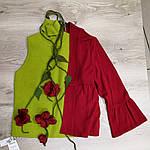 Костюм  жакет вязанный , американка и юбка цена  600 грн, фото 4