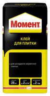 Клеящая смесь для плитки Момент 25кг Moment Киев