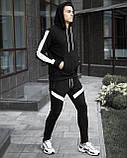 "Спортивний костюм Pobedov ""Lampas"" Black-white, S, фото 3"