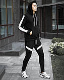 "Спортивный костюм Pobedov ""Lampas "" Black-white, S, фото 3"