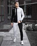 "Спортивный костюм Pobedov ""Segmentation"" Black-Grey, S, фото 3"