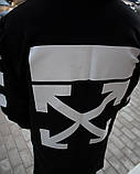 Мантия унисекс в стиле Off white Cross чёрная, фото 10