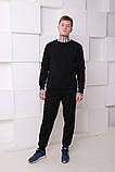 Штаны чёрные с белым лампасом Ellesse, фото 3