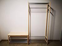 Комбинированная стойка для обуви и одежды BASIC / Комбінована стійка для одягу / Стойки / Стійки