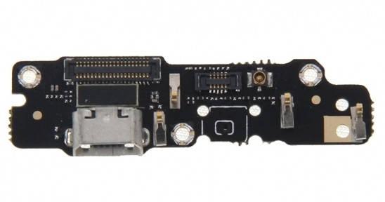 Нижняя плата Meizu MX4 Pro 5.5 с разъемом зарядки и микрофоном, фото 2