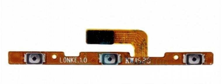 Шлейф Meizu MX3 с кнопкой включения и кнопками громкости, фото 2