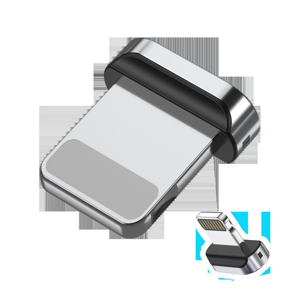 Овальный коннектор Iphone для магнитного кабеля с передачей данных TOPK AM61