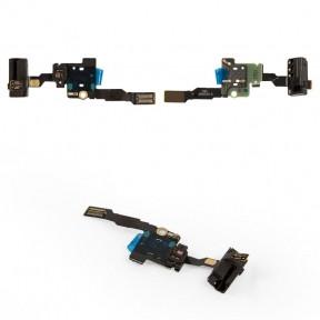 Шлейф Huawei P8 (GRA-L09) с разъемом наушников и датчиком приближения