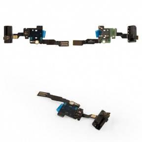 Шлейф Huawei P8 (GRA-L09) с разъемом наушников и датчиком приближения, фото 2