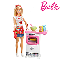 Кукла Барби кондитер Barbie Cooking & Baking Chef Storytelling FHP57