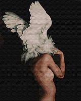 Картина по номерам BrushMe Абстракция в крыльях Эми Джадд (BK-GX29239) 40 х 50 см (Без коробки)