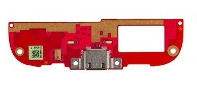 Нижняя плата HTC Desire 608t с разъемом зарядки и микрофоном, фото 2