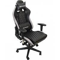Кресло геймерское Bonro 1018 Gray, фото 1