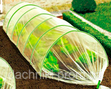 Парник из агроволокна Agreen 8 метров 50 г/м.кв.