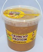 Арахисовая паста Master Bob - Crunchy Peanut Butter сладкая (1000 грамм) кранч
