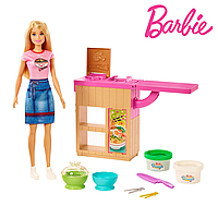 Кукла Барби приготовление лапши Barbie Noodle Maker GHK43