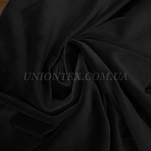 Ткань плюш велюр-черный