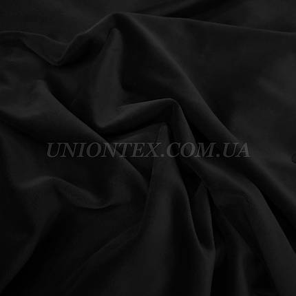 Ткань плюш велюр-черный, фото 2