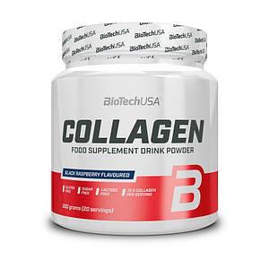 Для суставов и связок BioTech Collagen, 300 грамм  - черная малина