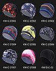 Утеплена еластична спортивна шапка-біні / шапка-трансформер з лайкри «NorthFlag» KW, фото 5