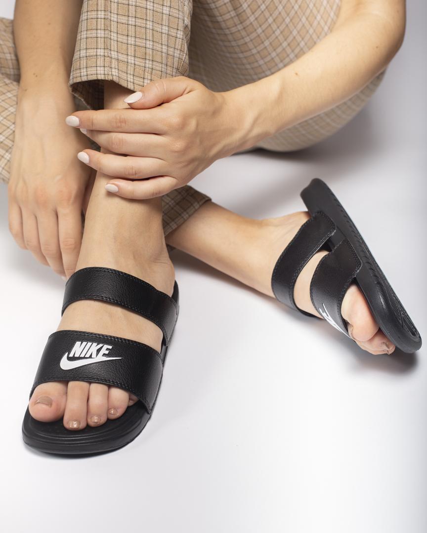 Босоножки женские в стиле Nike Benassi Duo Ultra Side