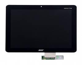 Дисплей Acer A210 Iconia Tab, Iconia Tab A211 с сенсором (тачскрином) черный