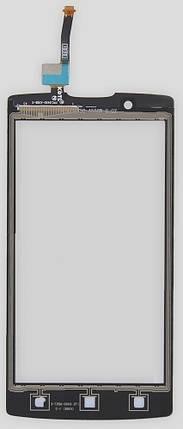 Сенсор (тачскрин) Lenovo A2010 черный, фото 2