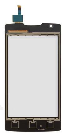 Сенсор (тачскрин) Lenovo A1000 IdeaPhone черный, фото 2