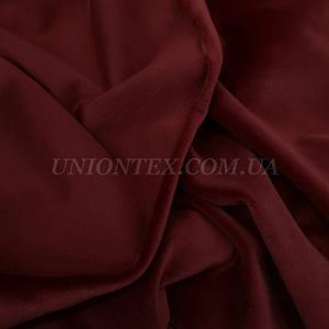 Ткань плюш-велюр бордовый