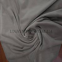 Ткань плюш-велюр серый