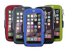 """Чохол-футляр захисний """"дихаючий"""" світиться на передпліччі YIPINU для телефону (5.0"""" / 6.1"""") із сенсорною плівкою"""