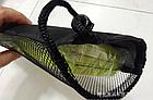 Чехол затягивающийся, для туристической складной сидушки-каремата (2 ВАРИАНТА: сплошной / сетчатый), фото 4