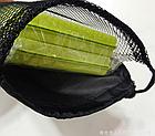 Чехол затягивающийся, для туристической складной сидушки-каремата (2 ВАРИАНТА: сплошной / сетчатый), фото 5
