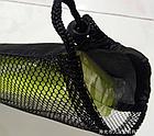 Чехол затягивающийся, для туристической складной сидушки-каремата (2 ВАРИАНТА: сплошной / сетчатый), фото 6