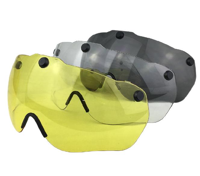 Сменные линзы (визор) для шлема GUB K80 PLUS, поликарбонат устойчивый к царапинам