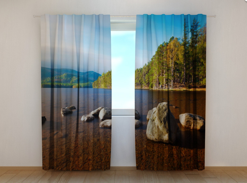 "Фото шторы ""Озеро 2"" 250 х 260 см"