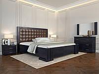 Двуспальная кровать с дерева Амбер, фото 1