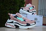 Кросівки Balenciaga Triple S (весна/осінь, жіночі, текстиль), фото 3