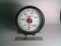 25602 AP BL Температура воды на ножке, стрелочный диам.60мм.черный